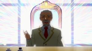 天界の天使学校の校長(高岡瓶々)