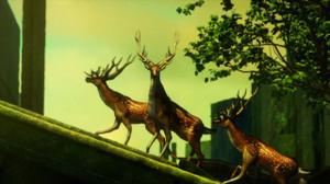 鹿っぽい鹿と馬っぽい馬