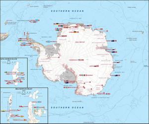 なんでキングジョージ島が人気なんだろう。