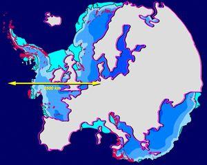 南極はヨーロッパより遥かに大きいんだぞ。
