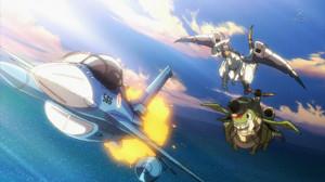 F-15J まそたん・F-2A ノーマ/健さん・C-1 フトモモ・E-2C あけみ