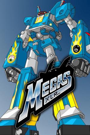 100%西洋製で唯一良さそうなメカアニメ。Megas XLR