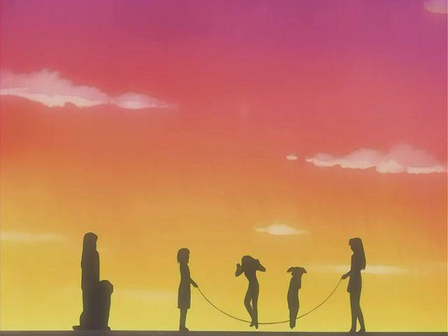 美浜ちよ(ちよちゃん)、榊(さかき)、春日歩(大阪)、滝野智(ともちゃん)、水原暦(よみ)、忠吉(ただきちさん)