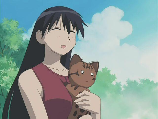 榊(さかき)、マヤー(イリオモテヤマネコの子供)