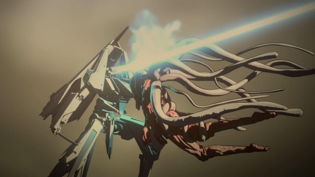シドニアの騎士 第九惑星戦役 一七式衛人 白月改 継衛(つぐもり)奇居子(ガウナ)