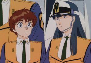 機動警察パトレイバー 泉野明(いずみ のあ)香貫花・クランシー(かぬか クランシー)