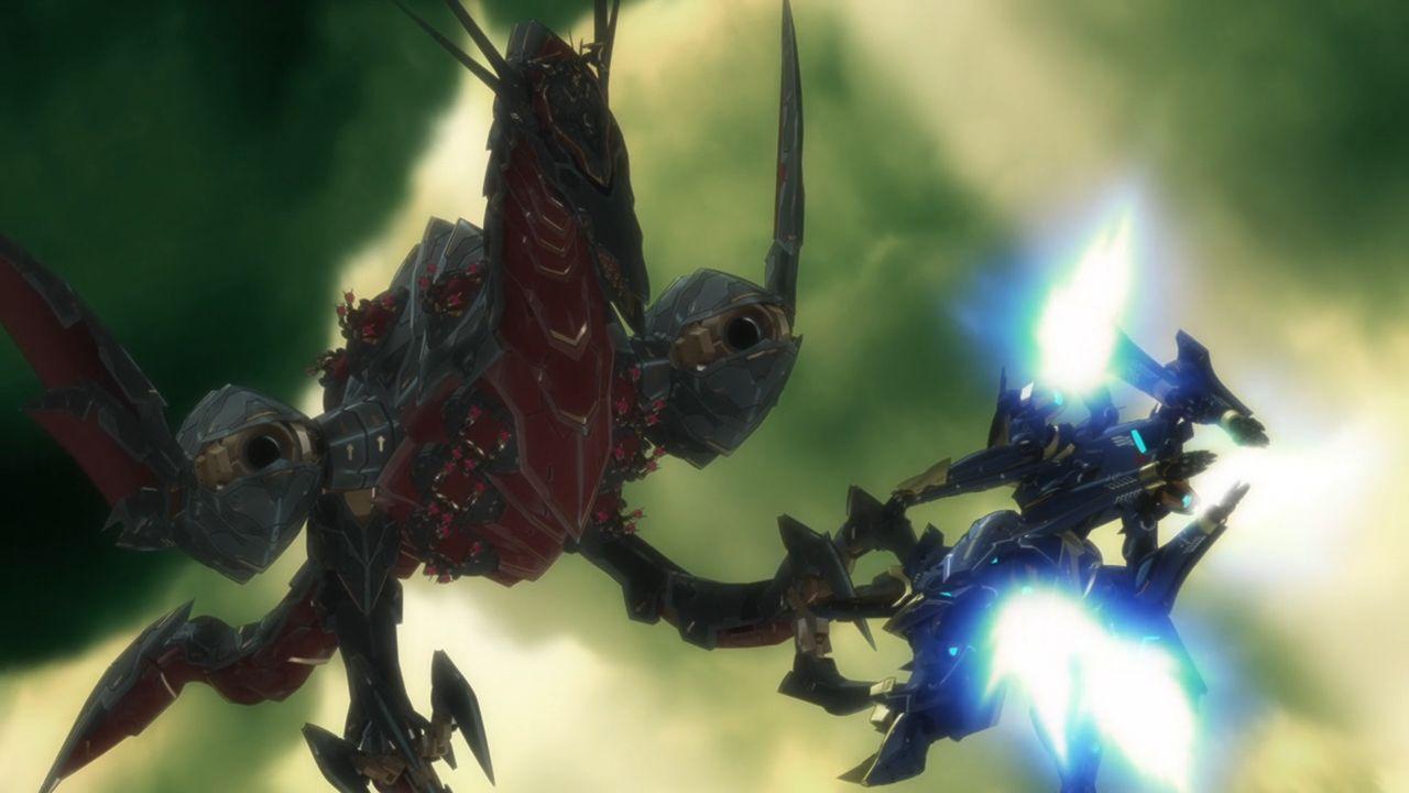 ナイツ&マジック 11話 幻晶騎士(シルエットナイト)斑鳩(イカルガ)飛竜戦艦(ヴィーヴィル)